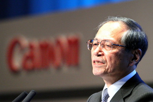 Less than 1% profit growth for two consecutive years Canon CEO resigns