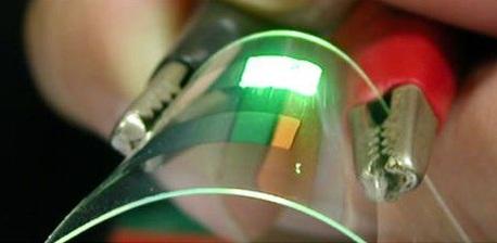 New market for organic light emitting diodes