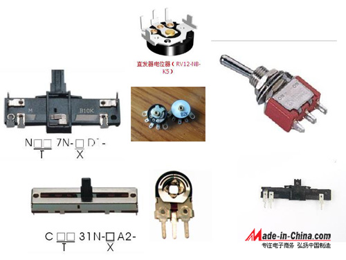 Potentiometer history process and its types