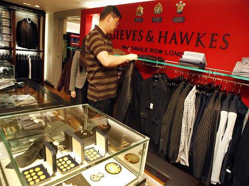 Luxury Brands Target Chinese Men's Market