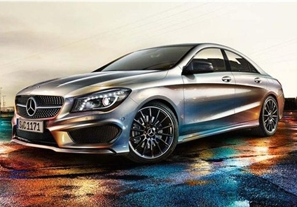Mercedes-Benz CLA official picture exposure