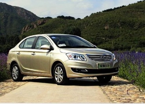 Chery E3 is listed on September 12 next year or launch automatic transmission