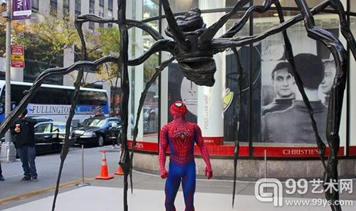 New York Christie's Will Shoot Spiderman Sculpture