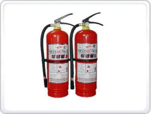 The use of common fire extinguishers