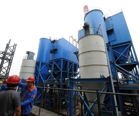 Domestic waste incineration power generation and energy saving