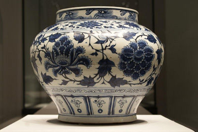 The General Characteristics of Modern Blue and White Porcelain Imitations in Yuan Dynasty