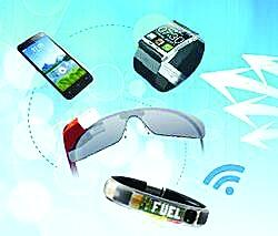Battery is the maximum limit for wearable computing devices