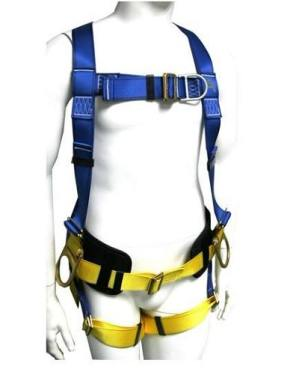 Use and protection of special safety belts for wind power