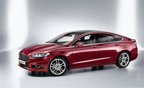 New 2013 Ford Mondeo official map released