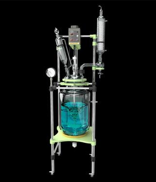 Glass reactor maintenance instructions