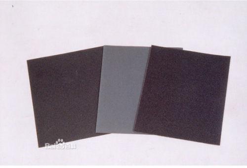 Classification of sandpaper