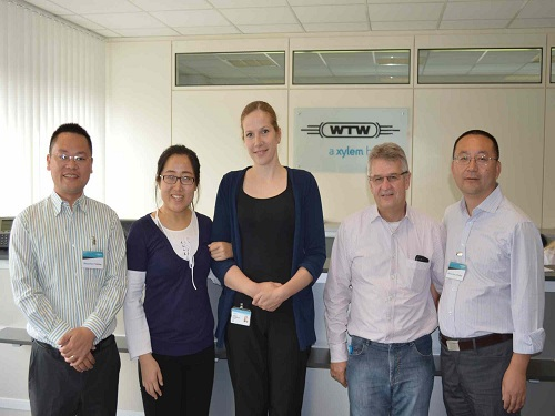 Mr. Liu Junping, General Manager of Xiamen Longlide, visits WTW factory