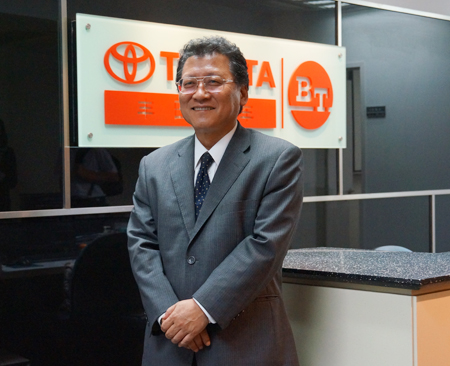 Toyota Forklift Focuses on Watanabe Takashi in the Chinese Market