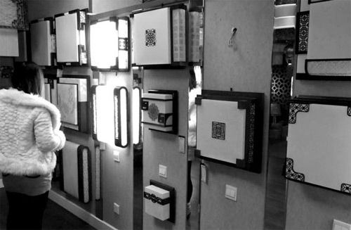 Retro style blow out lighting market