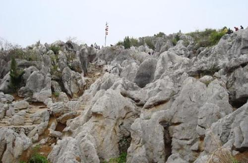 Hydroelectric miracle on karst topography