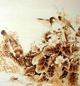 The sales of pyrography rose, and the price of Tibetans rose