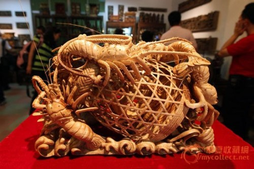 The magnificent Chaozhou woodcarving