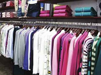 Qingdao imported clothing label failed