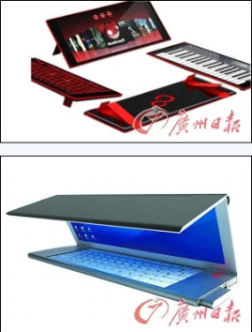 Concept PC makes people ecstatic