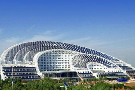 Qinghai into the largest photovoltaic power generation base in China