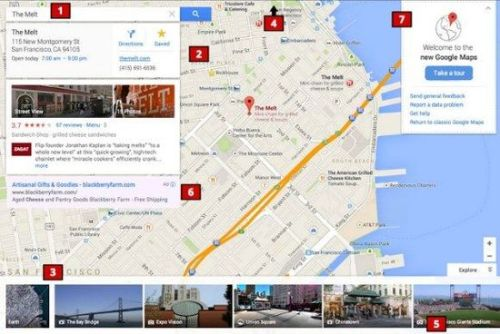 Pass Google will redesign the map interface