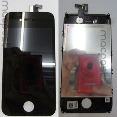 iPhone5 front panel prototype exposed similar to iPhone4