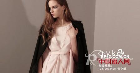 a.y.k女装参加2011年度畅销服装品牌关注榜主题活动了
