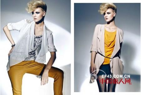 LAPRAZL法瑞姿时尚女装品牌2013年春夏新品发布