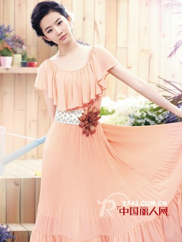 卓多姿时尚女装夏季新品 打造小清新美女