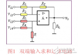 Features and performance analysis of double-ended input summing amplifier circuit