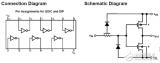 Amplifier circuit design based on CD4069