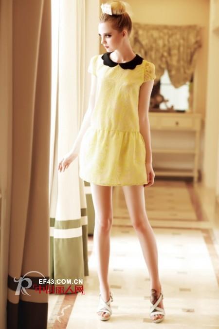 柠檬黄连衣裙适合夏天穿吗?柠檬黄连衣裙怎么搭配?