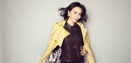 气质美女刘嘉玲代言拍摄BADINA芭蒂娜2013秋冬形象大片