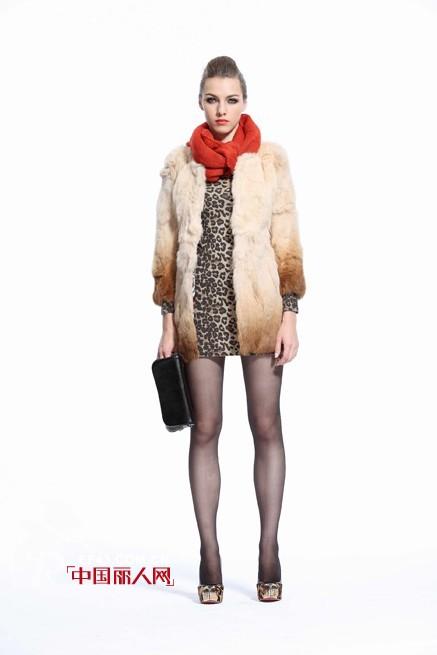 艾梅尼特2012冬季皮草系列尽拥奢华