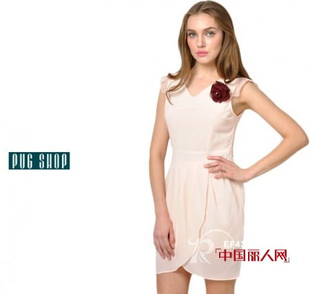 PUGSHOP品牌女装夏季优雅连衣裙推荐