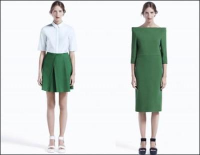 H&M高端品牌COS 2012春夏女装型录