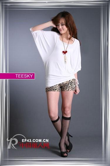 Teesky时尚女装 诠释美好青春的平价美衣