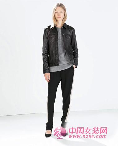 ZARA最新造型画册 2014秋冬女装流行趋势 (图6)
