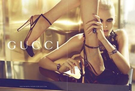 Gucci 2012春夏广告大片:奢华高雅