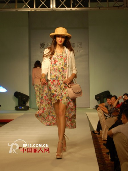 服装盛宴魅力星光 爱梅尼特集团品牌发布时装秀隆重举行