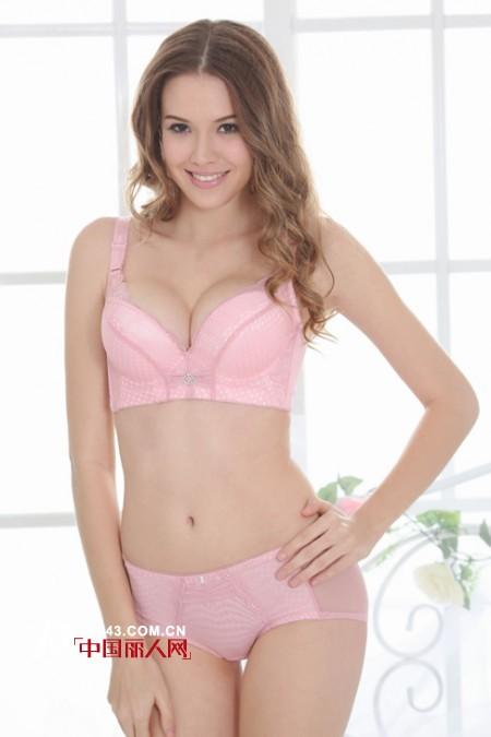 粉色内衣与女人性格  超薄款蕾丝文胸呵护健康