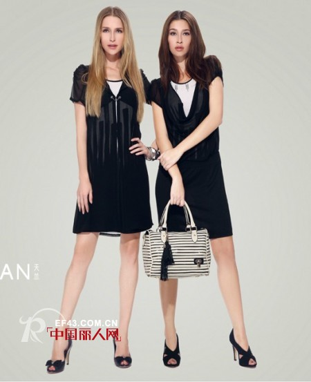 天兰女装 一个饱含对女性崇敬之情的品牌