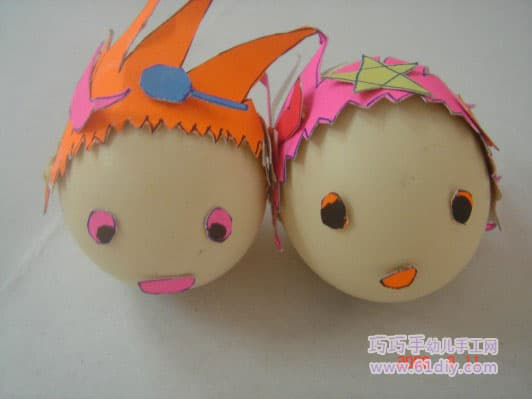 Eggshell Dolls - Kings and Queens