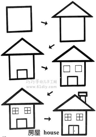 House Stick Figure 2 (square change)