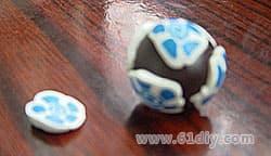Simple soft ceramic beads