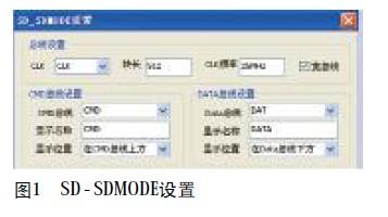 SD-SDMODE setting