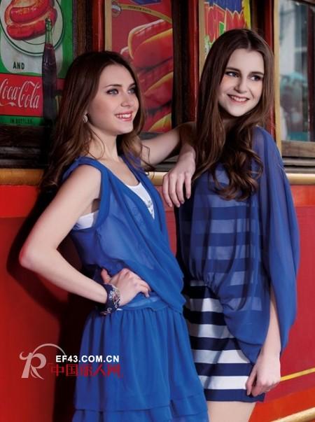 布根香女装2012夏季 创造纯美生活