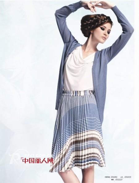 ECA时尚女装 诠释女性内心的柔美与华贵