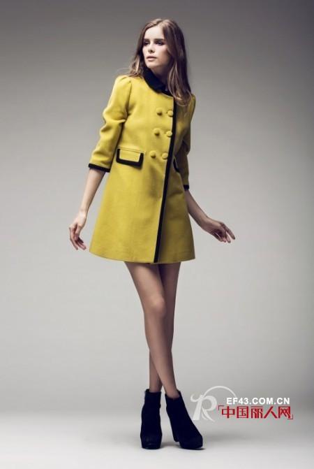 芥末黄是什么颜色 呢子风衣款式流行什么颜色