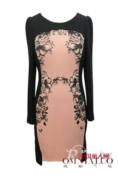 欧柏兰奴秋装新款 让您根据体型选择连衣裙